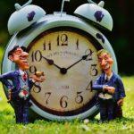 自分自身の時間に対する意識が低いと、人の時間に対する意識も低くなる
